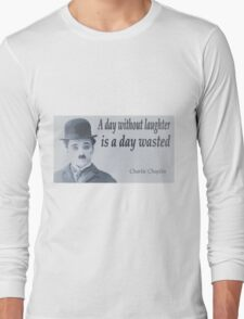 Charlie Says Laugh Long Sleeve T-Shirt