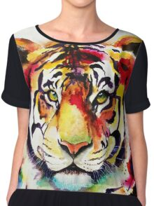 The big Tiger Chiffon Top