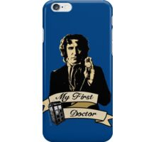 My first Doctor (Who) eighth 9th Paul McGann iPhone Case/Skin