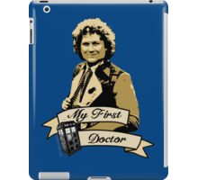 My first Doctor (Who) sixth 6th Colin Baker iPad Case/Skin