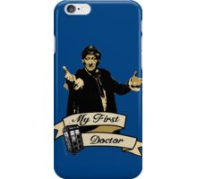My first Doctor (Who) Third 3rd Jon Pertwee iPhone Case/Skin