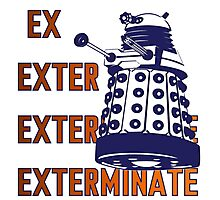 Doctor Who: Ex Exterminate Dalek Photographic Print