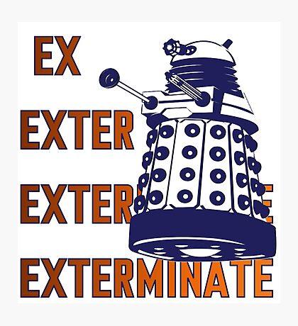 Doctor Who: Ex Exterminate Dalek Photographic Print
