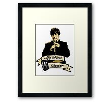 My first Doctor (Who) Second 2nd Patrick Troughton Framed Print