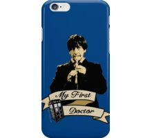 My first Doctor (Who) Second 2nd Patrick Troughton iPhone Case/Skin
