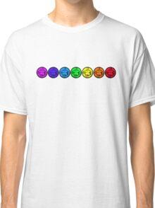 7 Chakras of Buddha Two Classic T-Shirt