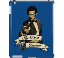 My first Doctor (Who) Eleventh 11th Matt Smith iPad Case/Skin
