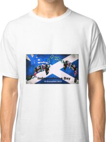 scottish independence Classic T-Shirt