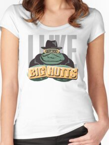 I like bit Hutts Women's Fitted Scoop T-Shirt