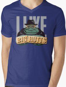 I like bit Hutts Mens V-Neck T-Shirt