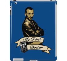 My first Doctor (Who) Ninth 9th Christopher Eccleston iPad Case/Skin