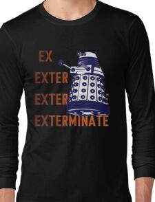Doctor Who: Ex Exterminate Dalek Long Sleeve T-Shirt