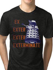 Doctor Who: Ex Exterminate Dalek Tri-blend T-Shirt