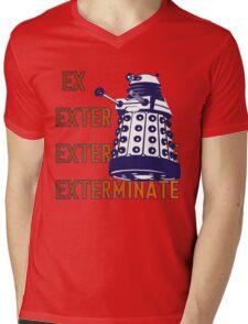 Doctor Who: Ex Exterminate Dalek Mens V-Neck T-Shirt