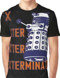 Doctor Who: Ex Exterminate Dalek Graphic T-Shirt