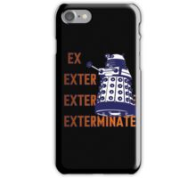 Doctor Who: Ex Exterminate Dalek iPhone Case/Skin