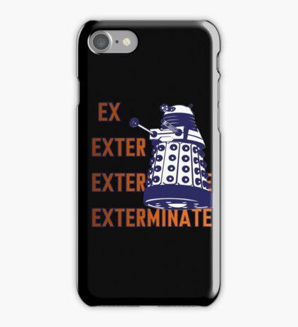 Doctor Who: Ex Exterminate Dalek iPhone Case/Skin