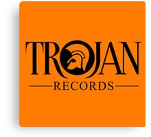 TROJAN RECORDS 12 Canvas Print