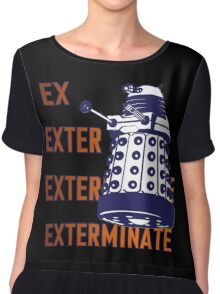 Doctor Who: Ex Exterminate Dalek Chiffon Top