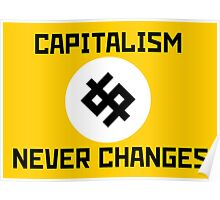 Capitalism Never Changes Poster