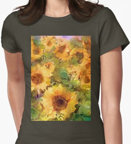 Sunflower 29 Womens Fitted T-Shirt