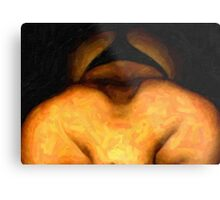 abstract semi-nude Metal Print