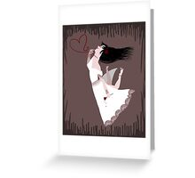 Snow White in Love Greeting Card