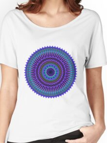 Daily Focus Mandala 6.25.16 Women's Relaxed Fit T-Shirt