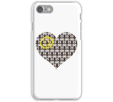 Sherlock Heart iPhone Case/Skin