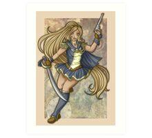 Sailor Selini (Print Only) Art Print