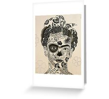 Day of the Dead Frida Greeting Card