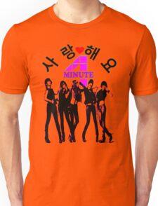 ♥♫SaRangHaeYo(Love) Hot Fabulous K-Pop Girl Group-4Minute Clothes & Phone/iPad/Laptop/MackBook Cases/Skins & Bags & Home Decor & Stationary & Mugs♪♥ Unisex T-Shirt