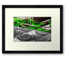 Street scene 2 Framed Print