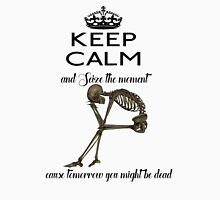 Seize The Moment Skeleton Buffy Quote Bones 2 Unisex T-Shirt