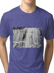 The frozen waterfall Tri-blend T-Shirt