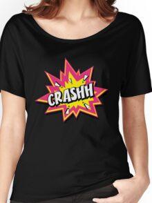 CRASHH Women's Relaxed Fit T-Shirt