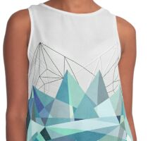 Colorflash 3 Turquoise Contrast Tank