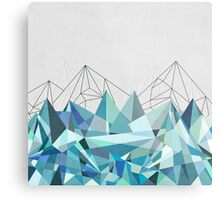 Colorflash 3 Turquoise Metal Print