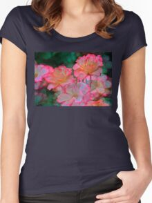 Rose 203 Women's Fitted Scoop T-Shirt