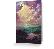 Light From Heaven Greeting Card