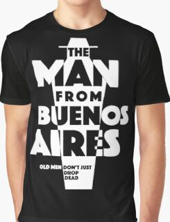 Poster: The Man from Buenos Aires Graphic T-Shirt