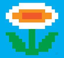 Super Mario Bros. Fire Flower by rK9nation