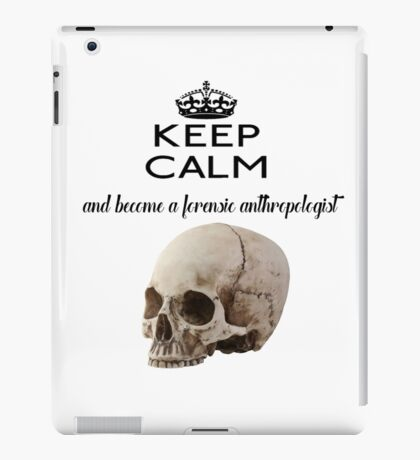 Forensic Anthropology Bones Skeleton iPad Case/Skin