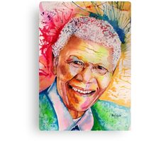My colors for Mandela Canvas Print