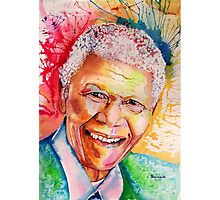 My colors for Mandela Photographic Print