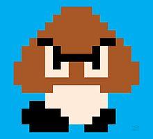 Super Mario Bros. Goomba by rK9nation