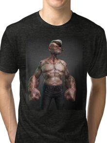 Popeye the Sailor Man Tri-blend T-Shirt