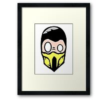Scorpion dO_op Framed Print