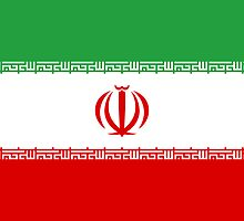 Current Flag of Iran  by abbeyz71