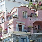 Pink House Positano by hummingbirds